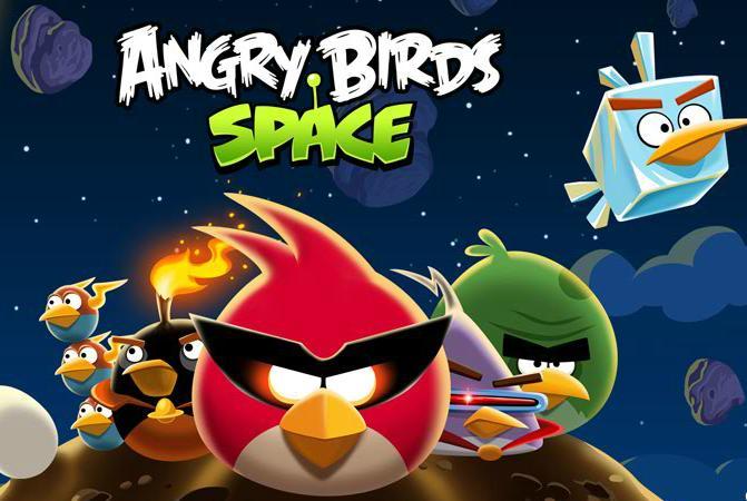 angry birds en el espacio